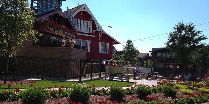 ForeverLawn of Ohio Commercial project at Sugar Creek and is worlds largest cuckoo clock
